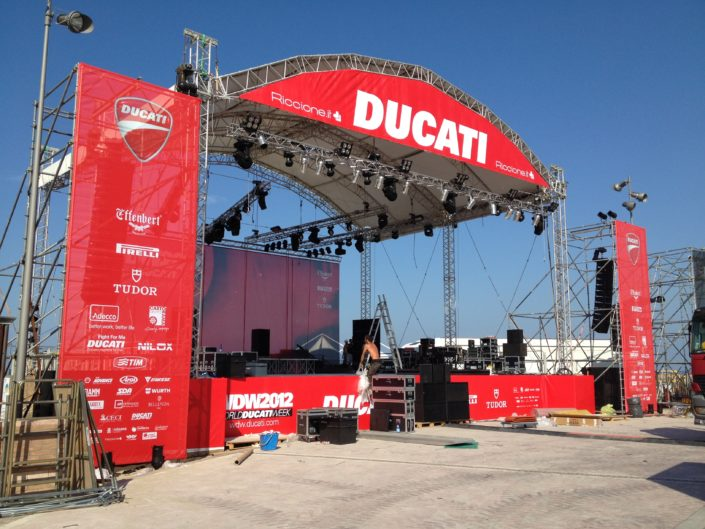 World Ducati Week-end - con Giochi Di Luce
